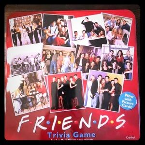 TRADE PENDING Friends trivia game.